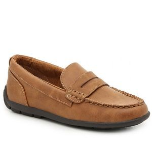 Boys slip on loafers